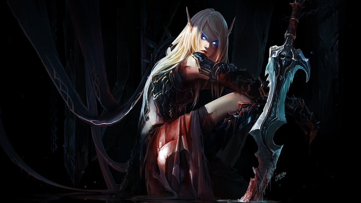 Blood elves girls erotica image