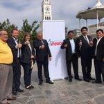 En plaza Prat junto @RenzoTrisotti y los candidatos alcaldes de Chile Vamos en las comunas de la  Región #Iquique https://t.co/I35WVBXp3p