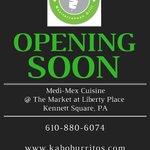 Get ready Kennett! Kaboburritos is coming soon! https://t.co/u0VBGSTAnT