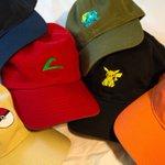 Culture Cloths and Heirogant Co. present The Pokemon Starter Pack Cap Collection! https://t.co/nIK6Un2EHM