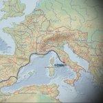 Hace dos mil años en tiempos del emperador Augusto,#Gades se comunicaba directamente con #Roma  por la via Augusta https://t.co/ZWL3kbfwcm