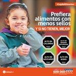 Prefiere los alimentos con menos sellos #LeyDeAlimentos #Iquique #AltoHospicio @Gore_Tarapaca @Saludtarapaca https://t.co/Au6EPDyaRs