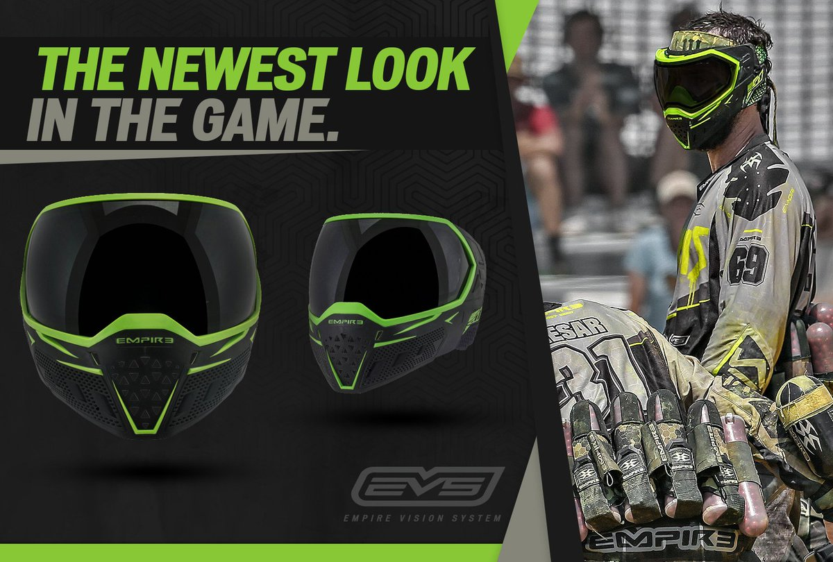 The Newest Goggle in the Game already has a Pro NXL Win with @LAInfamous! #paintball #EmpirePaintball #Evsgoggle https://t.co/h4GjVndG6o