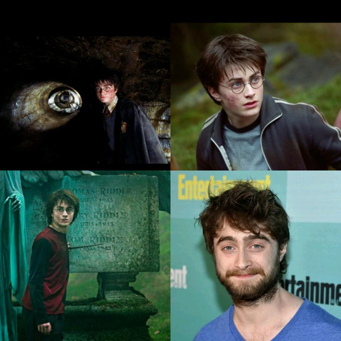 Happy 27th birthday, Daniel Radcliffe!       You are the perfect Harry Potter!
