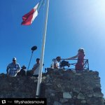 #Repost @FiftyShades ・・・ Dakota and Jamie on top of the World. #Roquebrune #SouthofFrance #FiftyShades - #ELJames https://t.co/O3GI96CFLd