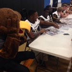 Southern Miss football players made visits to the Boys & Girls clubs in Gulfport and Pass Christian today @WLOX https://t.co/qACrXxkJL9