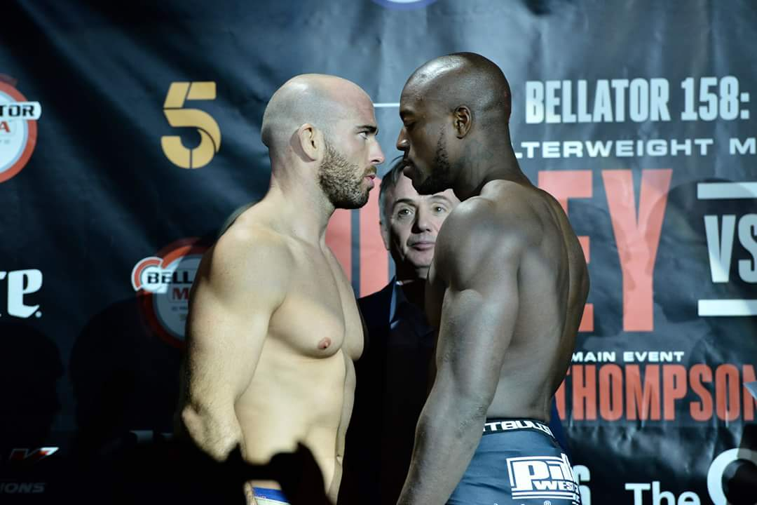 On weight and ready to go tomorrow night @BellatorMMA London #Bellator158 #BellatorLondon https://t.co/23RcAdXZTW