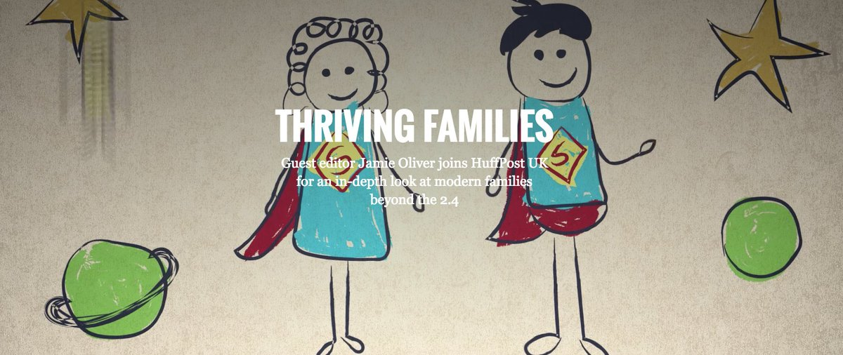 RT @HuffPoUKParents: Today we launched #ThrivingFamilies with @jamieoliver #HuffPostJamie https://t.co/lL1J5mjIlk https://t.co/fJ2Uvsw9Do