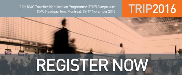 Join us for the icaoTRIP Symposium 2016 in Montréal - Register Now