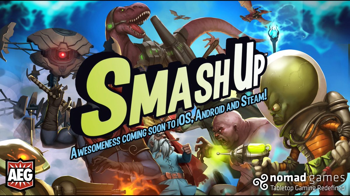 Digital Edition of Smash Up Coming Soon - https://t.co/gyIKmXmSvk https://t.co/V2AsUWhdT1