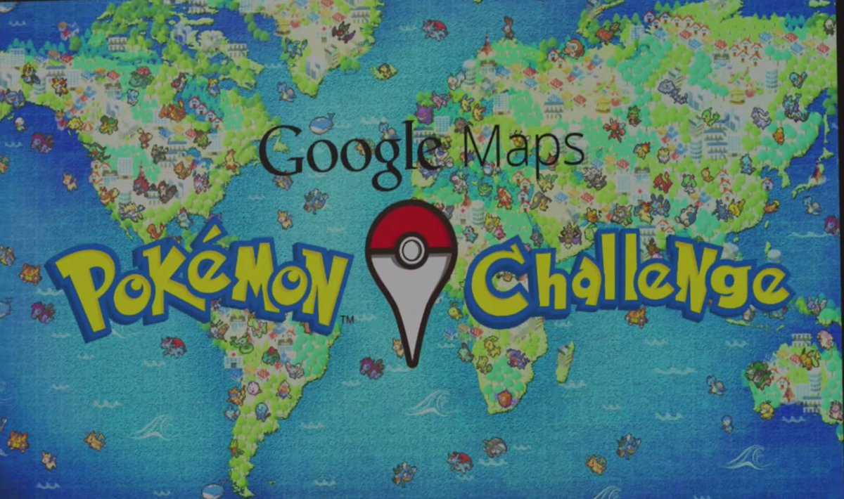 #PokémonGO started as one big #AprilFools joke at #Google. See more: https://t.co/3SInVWXcOX https://t.co/E4pmEmCKHK
