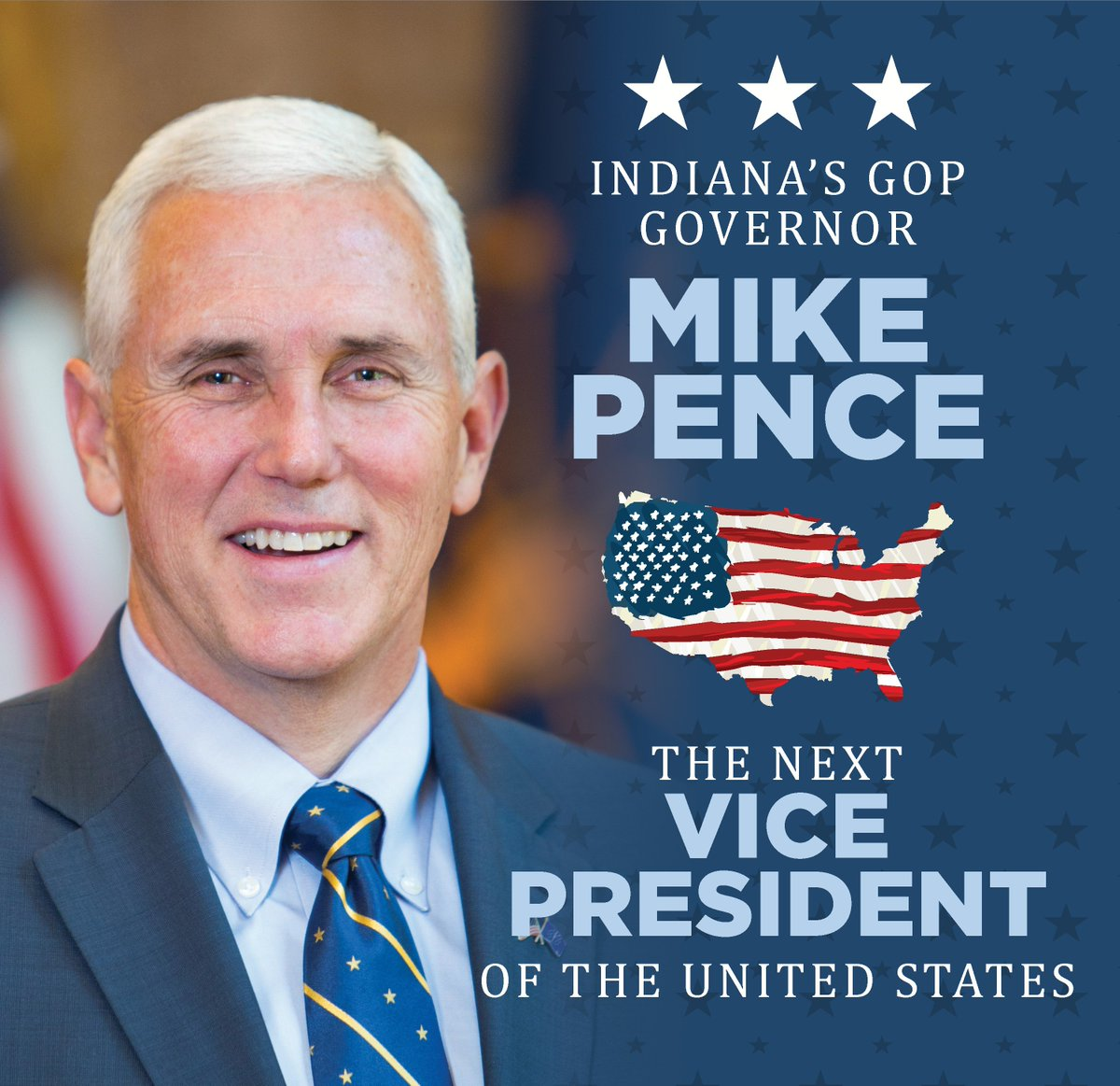 Congratulations to Gov @Mike_Pence on his selection as the GOP Vice Presidential nominee! https://t.co/tqeVxQpx50 https://t.co/nGWF9qGWUF