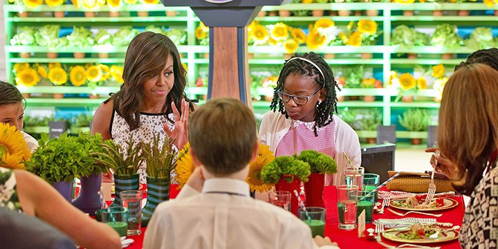 Michelle Obama hosts fifth annual Kids' State Dinner — get the winning recipes
