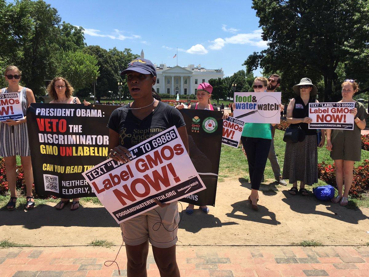.@POTUS #vetoDARKact! Don't let Monsanto buy our government! Label GMOs now! QR codes are not labels! https://t.co/jKk42OfqFs