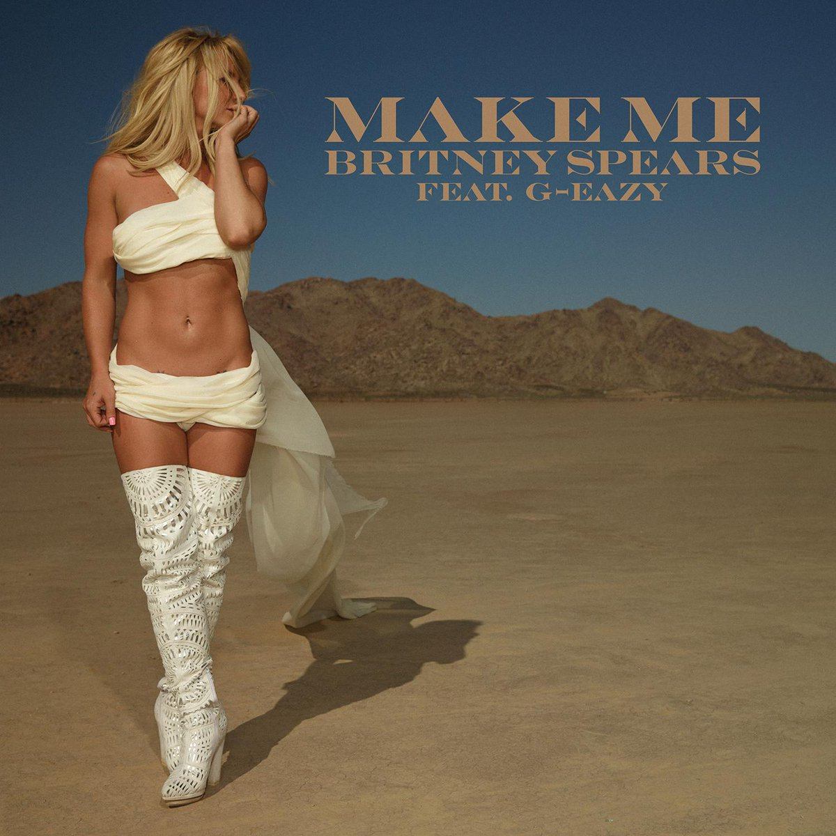Who else has #MakeMe on repeat all day?  Get the new track from @britneyspears here: https://t.co/TyjDA9e7bv https://t.co/Irtt0o9cBk