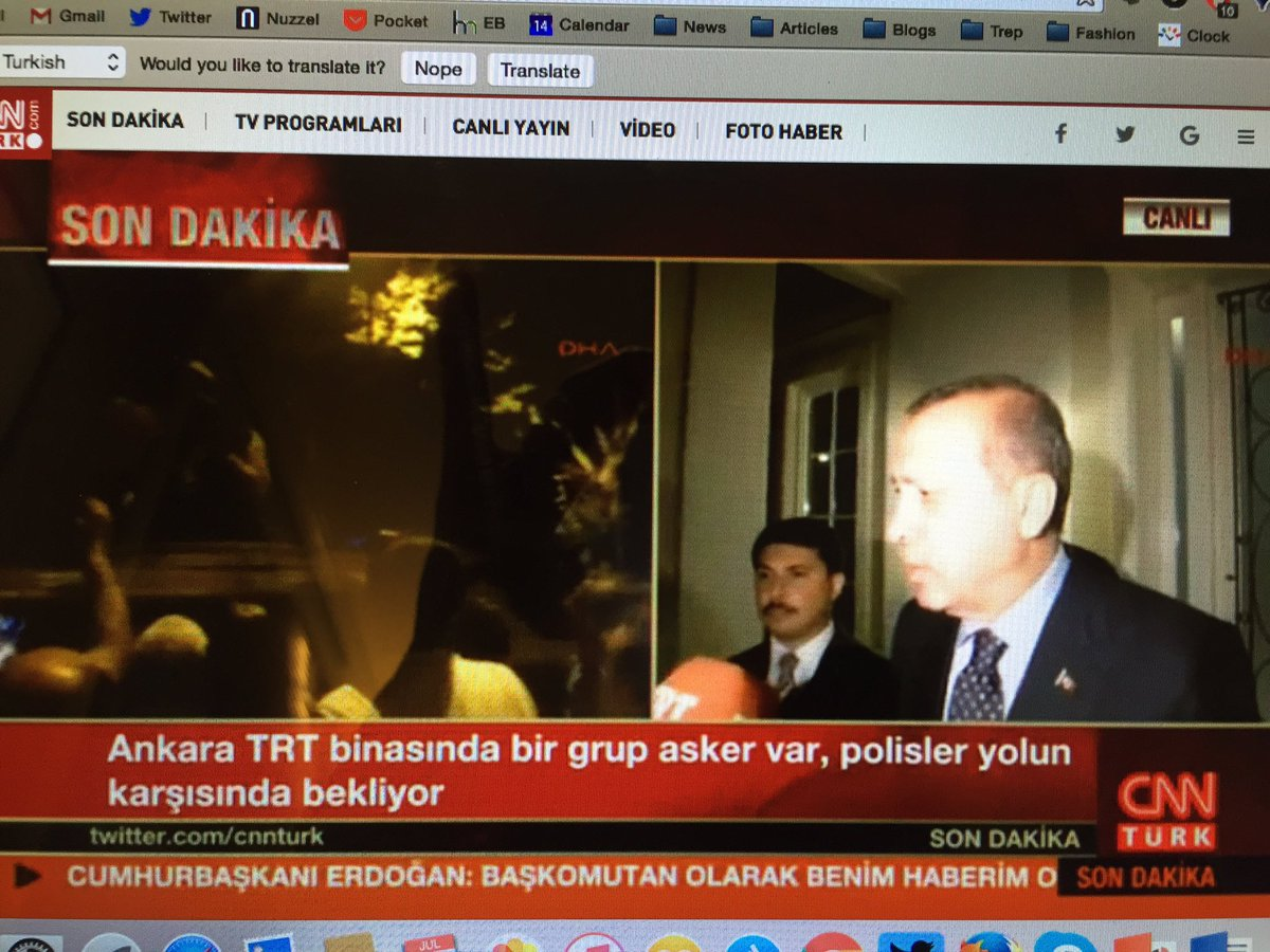 Erdogan is now on camera live (not FaceTime) https://t.co/LncZrhAAby