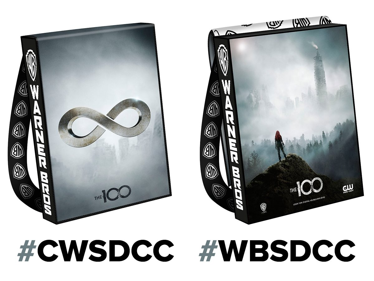 Heading to Comic-Con®? You might walk away with the official bag for #The100! #CWSDCC #WBSDCC https://t.co/lGlyYafzHj