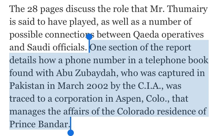The release of the missing 9/11 report pages is one the luckiest Friday news dumps ever: https://t.co/T0phP5pt68 https://t.co/xezQM3Uj5N