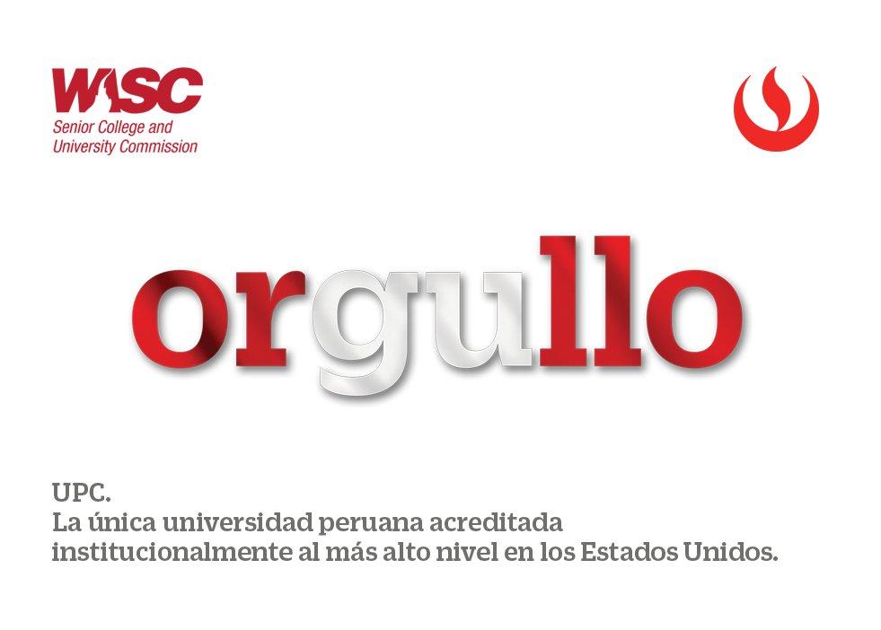 ¡UPC acreditada institucionalmente por WASC! #OrgulloUPCino #ExígeteUPC #UPCinternacional #UPC_WASC https://t.co/nKsXmWrvKK