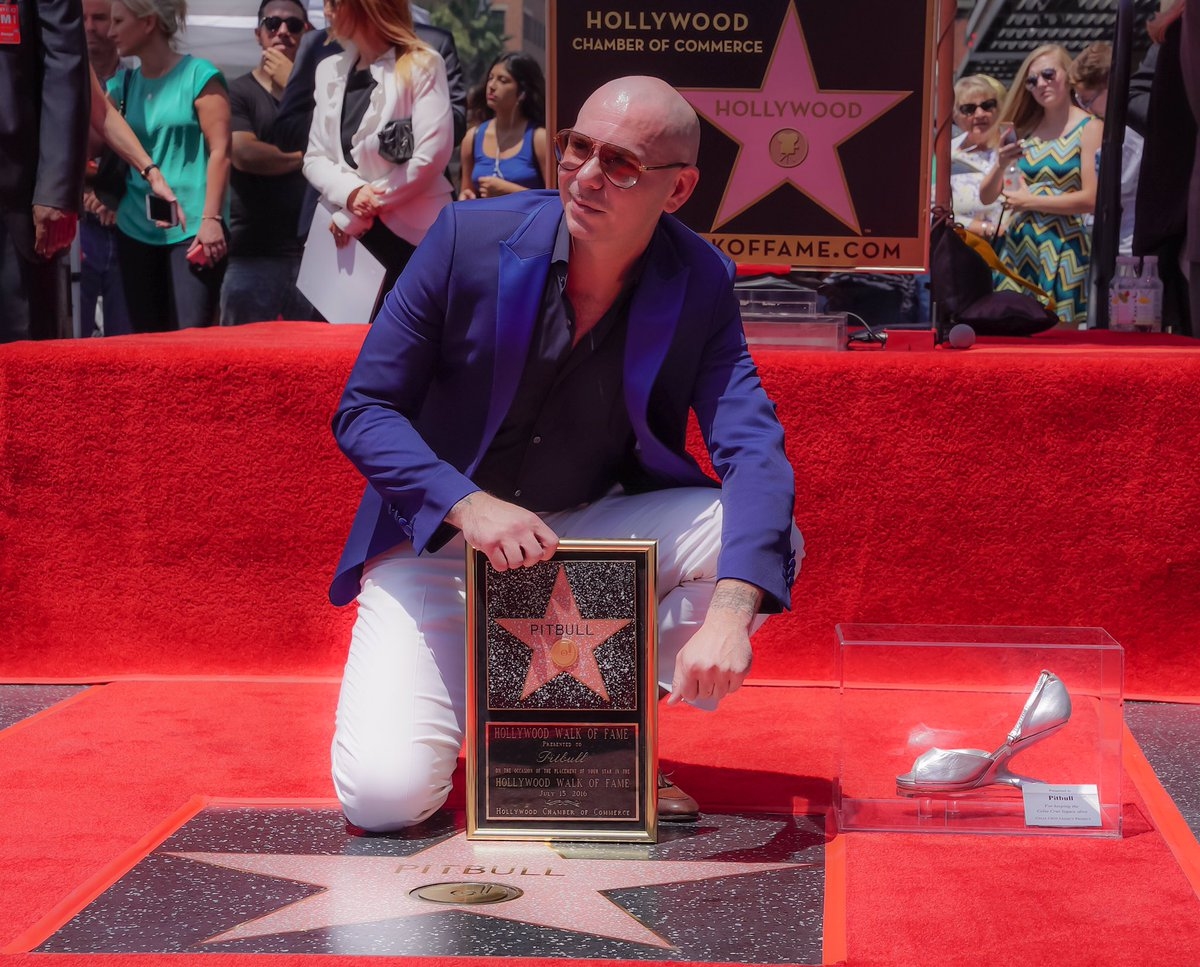 What an honor to receive my star on the #hollywoodwalkoffame thanks to all the fans #dale https://t.co/Dlc2WIuLKU