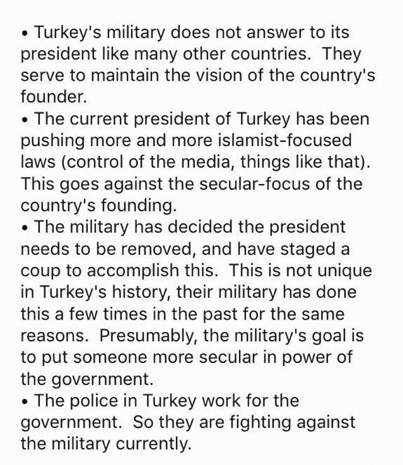 To Help You Understand What's Going On In Turkey. https://t.co/Z2k74Qok5i