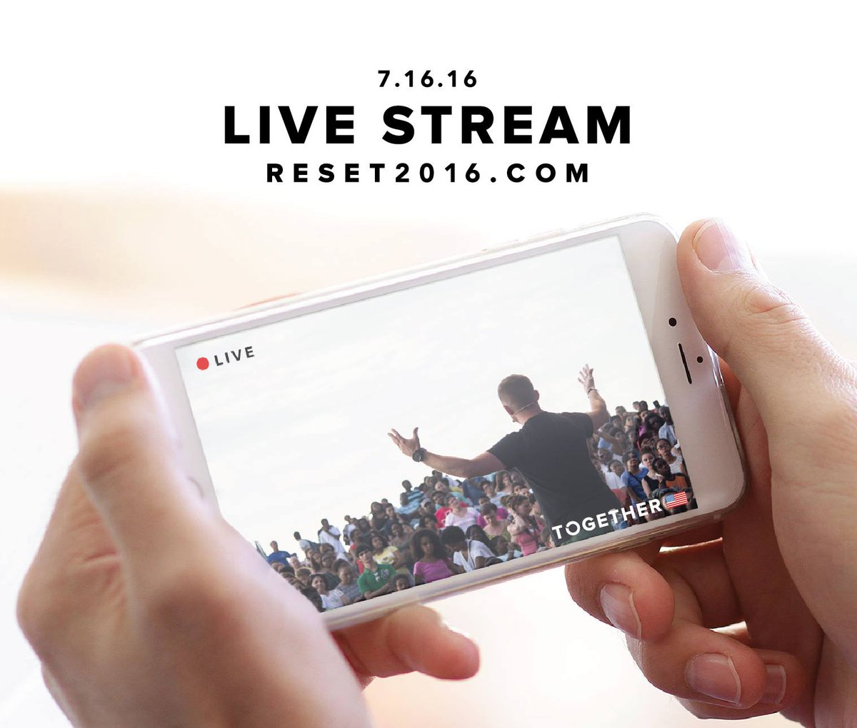 Watch #Together2016 live stream and pray with us. Begins at 9AM (EST) TOMORROW. Go to https://t.co/LAWgMJskf1. https://t.co/0oEkUwjxcr