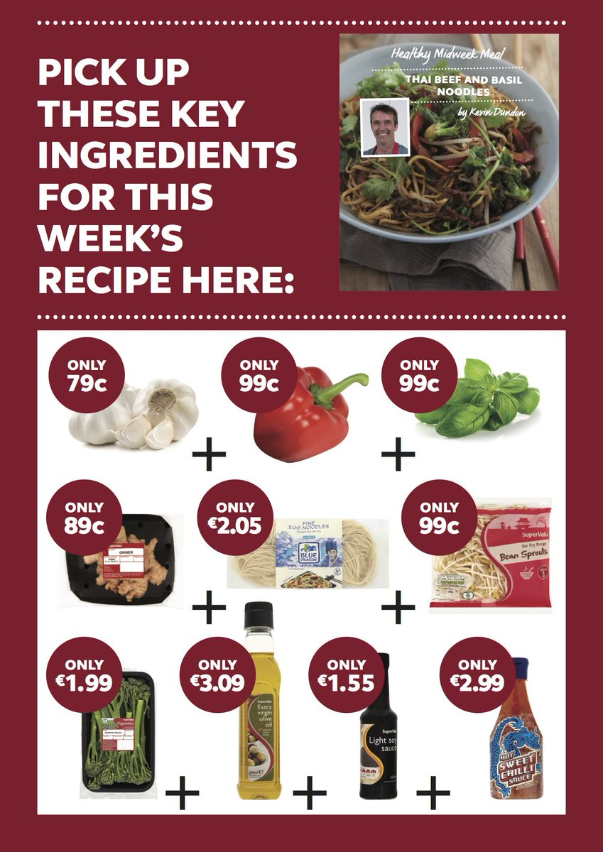 Pick up all your ingredients for this week's recipe by Kevin Dundon in store now! https://t.co/LWph3ghv5d
