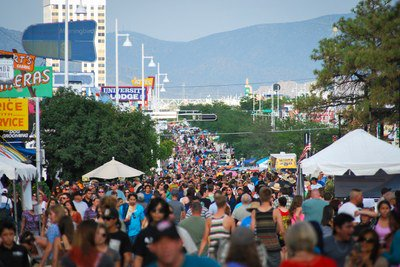 Today is the Route 66 #Summerfest! Join us for music, food & fun in Historic Nob Hill. https://t.co/YX547lHgAe https://t.co/BHlZbDsaCP