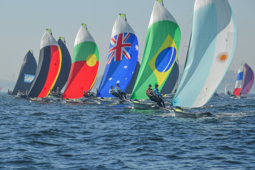 We're loving these photos from Rio International Sailing Week! Which kite is your favorite? Photo by Fred Hoffmann. https://t.co/ksaCOdrp5Q