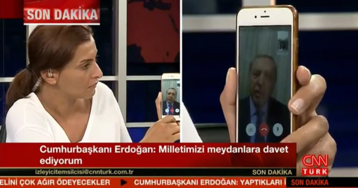 The revolution will not be televised... it will be face-timed.  #TurkeyCoupAttempt https://t.co/DrkpwHhhdG