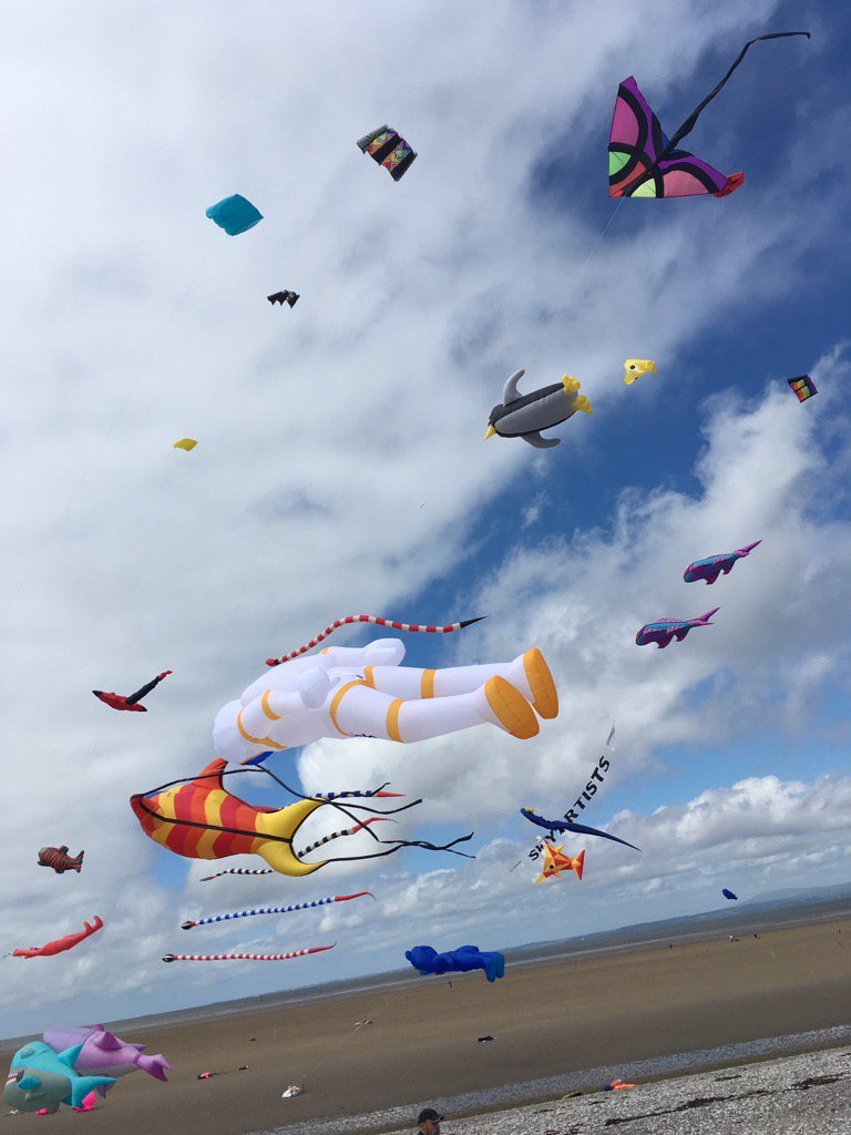 From the Morecambe kite festival https://t.co/itThjUnOiA