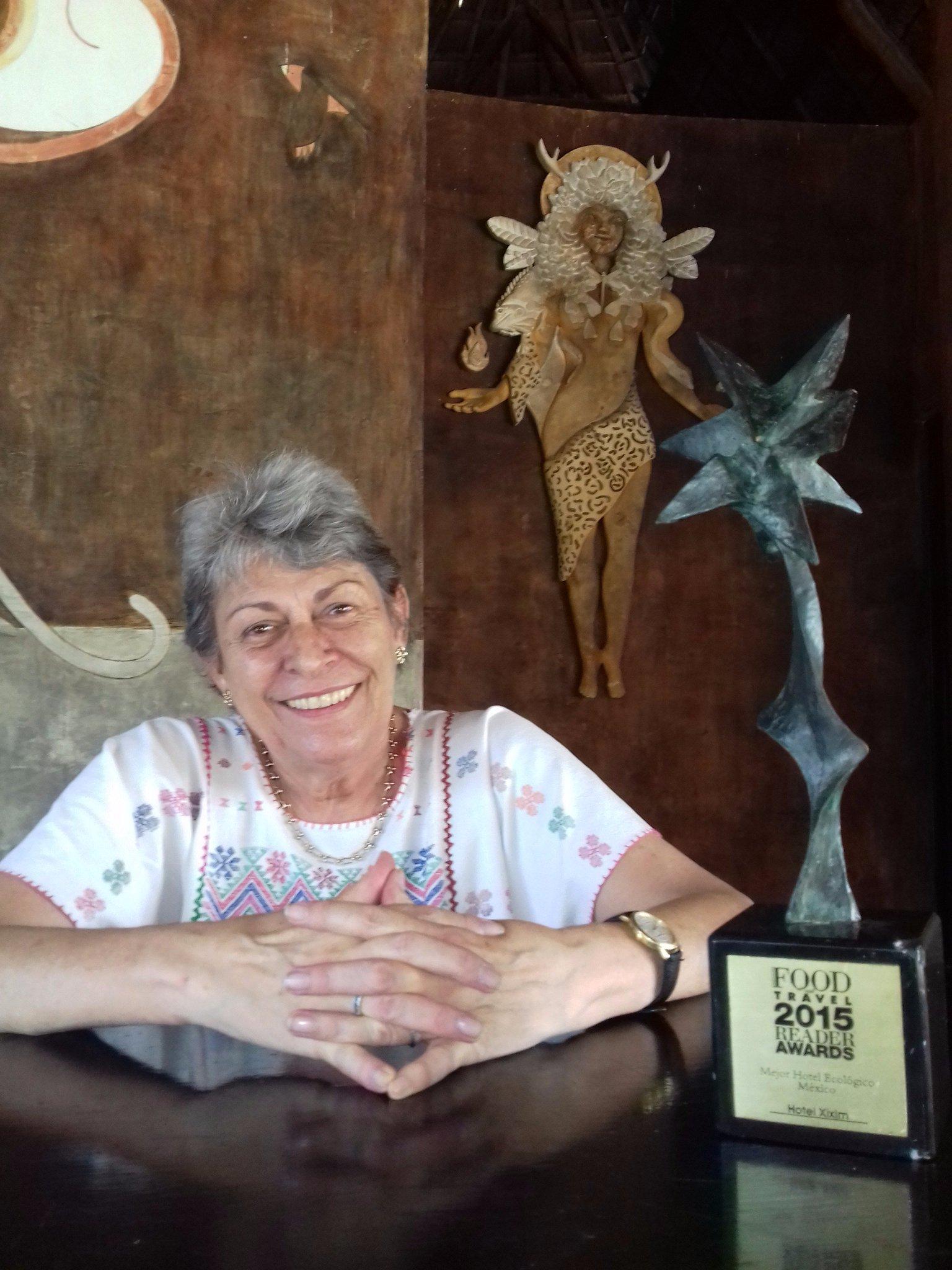 Esta semana, la señora Verena Gerber Stump vino a visitarnos a Xixim. @LaTradicionMID @AmigoYucatanDMC @ronmader https://t.co/0E2TSxs2zw