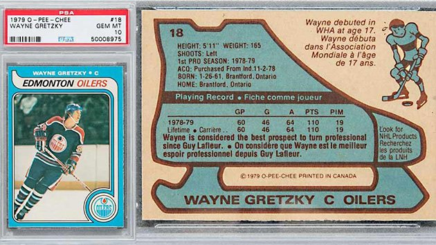 Wayne Gretzky rookie card setting new record at auction (by @almuirSI) https://t.co/1zWYvWC3Rn https://t.co/XZyj5g61d6