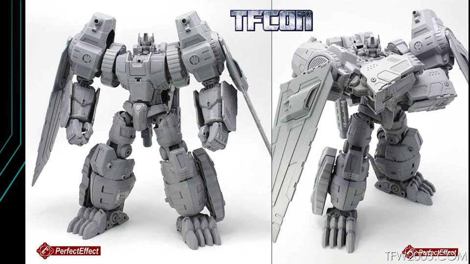 Pics of PerfectEffect PE DX-06 Beast Gorira from the 3rd Party Panel at TFcon 2016 via TFW2005 https://t.co/34Willjpn6