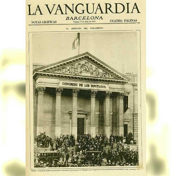 Portada de la vanguardia del 17 de julio de 1931 hoy hace - Portada de la vanguardia ...