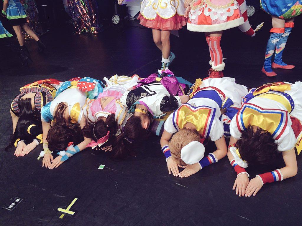 プリパラライブ♡昼の部ありがとうございましたー!!「最高かよ」という楽しさです!ありがとうございます(*^_^*)!!夜