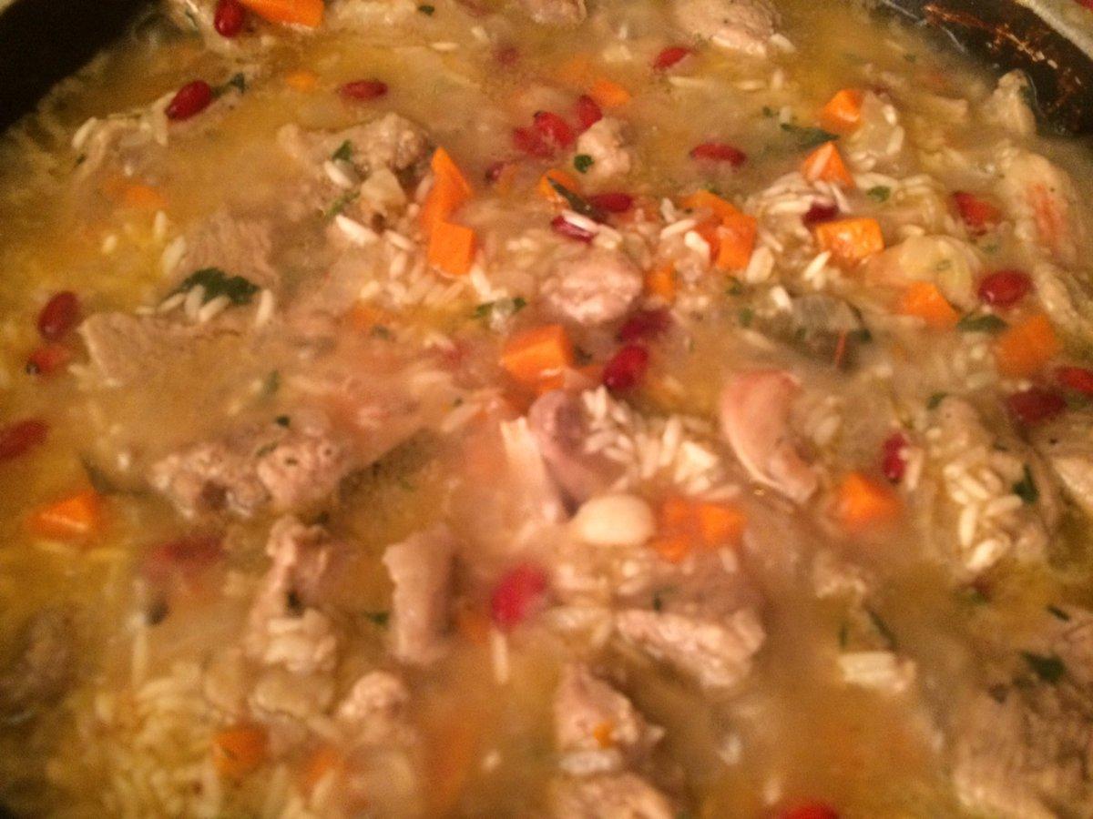 Рис с говядиной рецепт пошагово