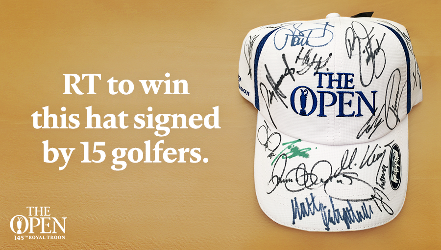 Thank you to our wonderful fans around the world. For a chance to win, simply RT. #TheOpen https://t.co/M22rBRSuvy