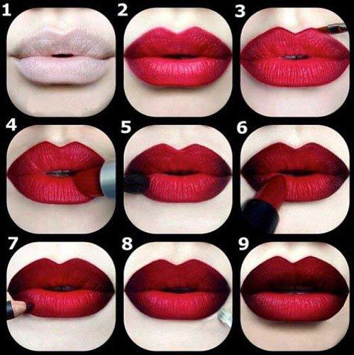 Как сделать матовыми губы