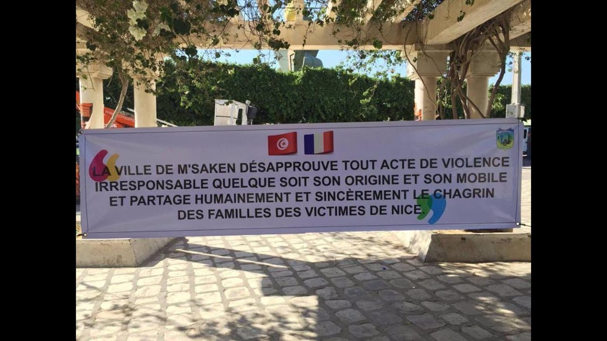 M'saken, ville d'origine du conducteur du camion #NiceAttack #NiceAttentat #Nice06 #Msaken https://t.co/CmkDvMIa9m