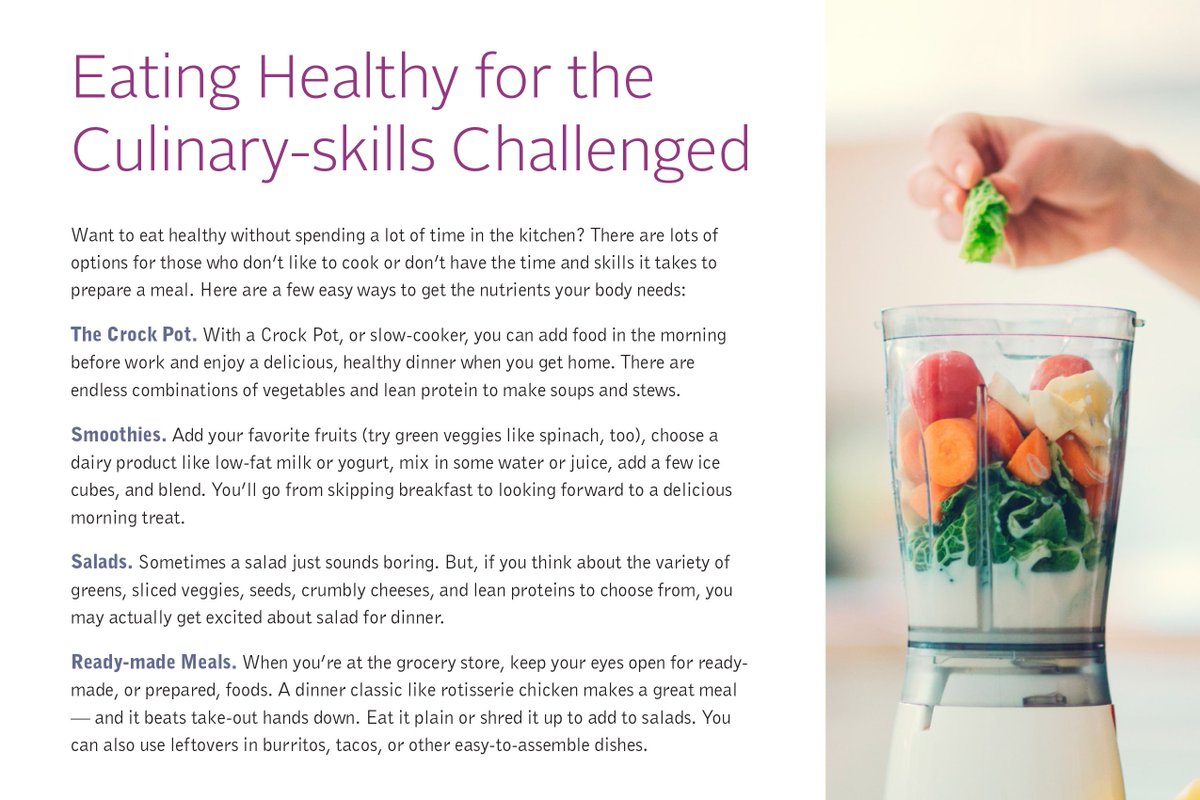 Skip the fancy cookware and mountain of dishes. Creating a healthy meal is easier than you think. #IBXWellness https://t.co/C9nvzIR2oQ