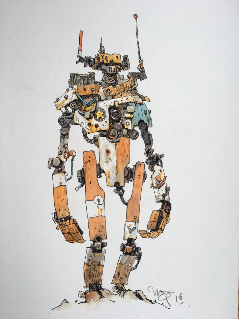 ink/wash/robodude https://t.co/KfGR4UZ8AX