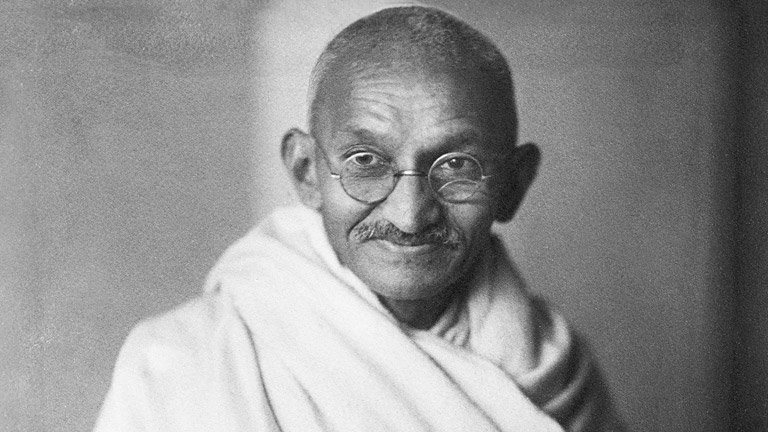 """Whenever you are confronted with an opponent, conquer him with #love."" - Mahatma Gandhi https://t.co/i918cIEh6t"