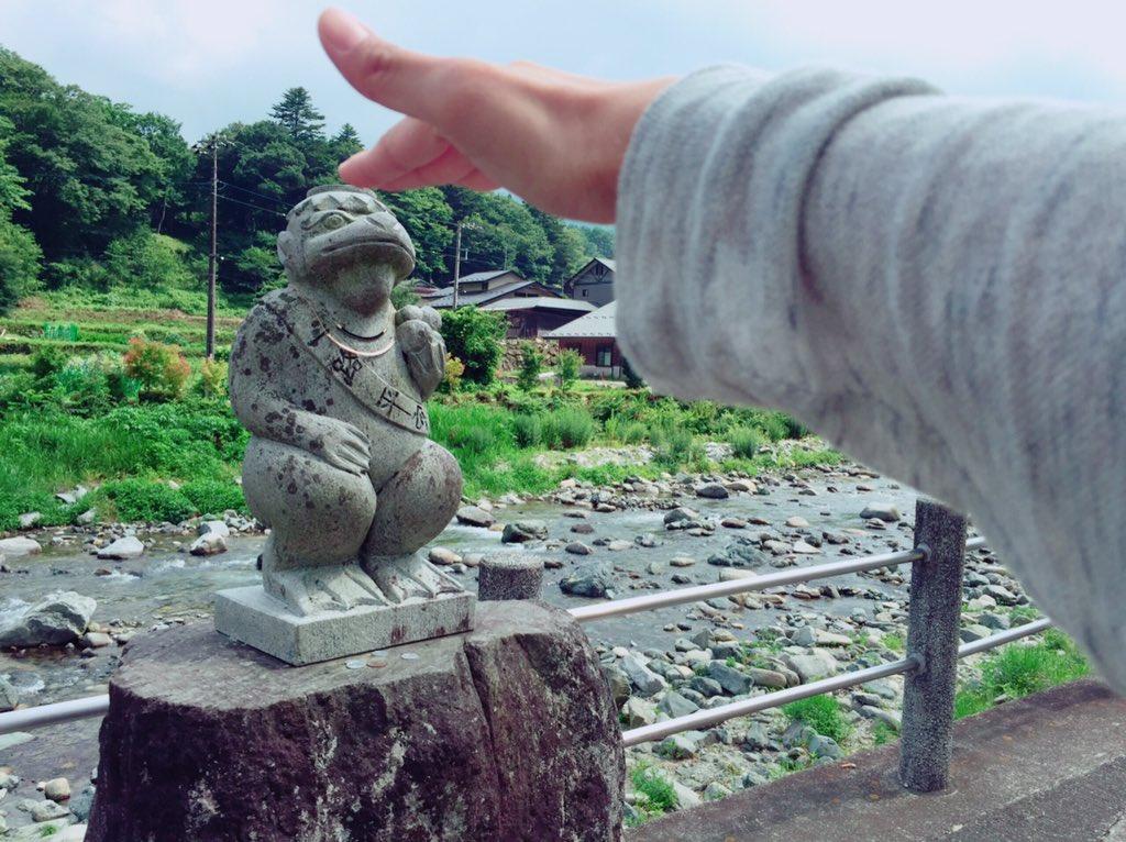 昨日バスツアーでしたが…実は先日打ち上げでも道志村に行って来たのですよ!単独行動で釣りへ…♪この為に渓流釣り竿こさえてき