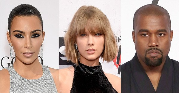 Taylor Swift sounds off on Kim Kardashian and Kanye West's