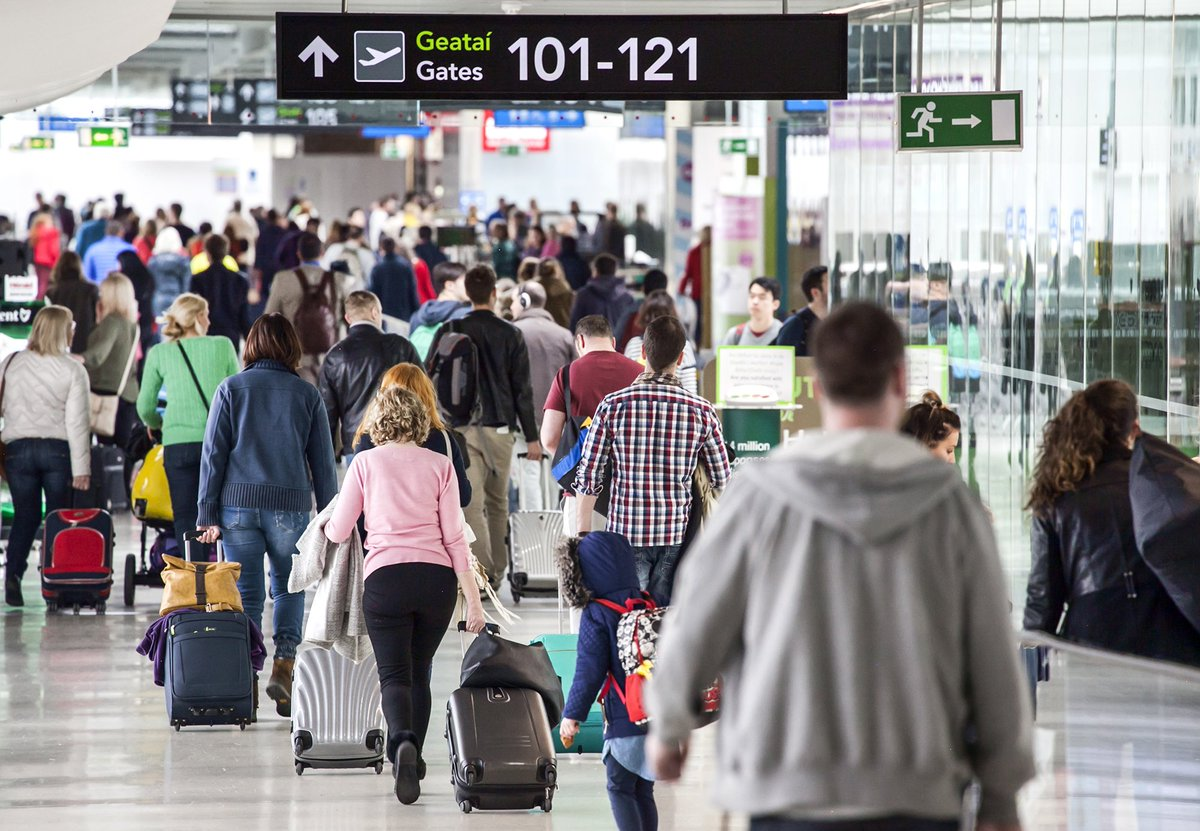 Passenger numbers up 13% in first 6 months @DublinAirport, 1.5m extra passengers welcomed
