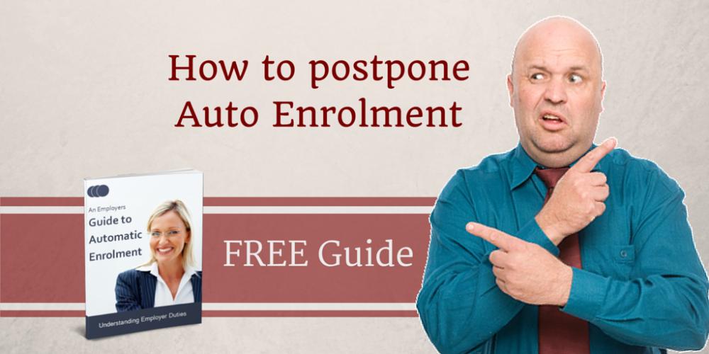 How to postpone #AutoEnrolment. Employers, watch the FREE video >> https://t.co/91uPjOl0xo https://t.co/72DUBehxoD