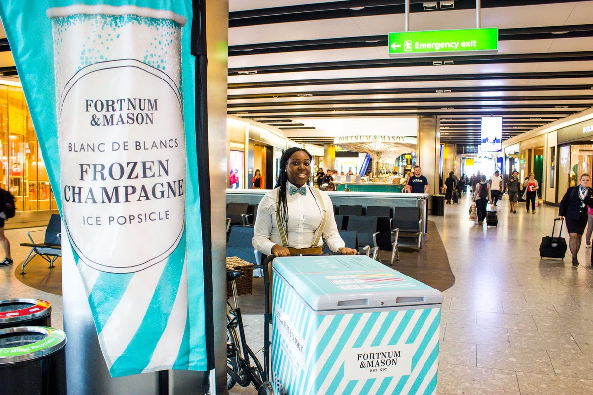 RT @Fortnums: Before you POP off... Just arrived at @HeathrowAirport T5