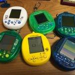 マメゲームシリーズは「ボンバーマン」「ギャラクシアン」「クレイジークライマー」「コラムス」「パックジュニア」「スペースイ