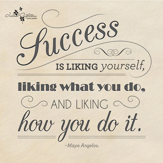 Motivational Monday: Success is liking yourself, liking what you do, and liking how you do it! #KWAwesome https://t.co/KqW4CUy5KT
